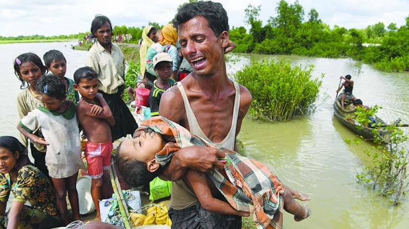 Rohingya Refugee Crisis – Concerns of India
