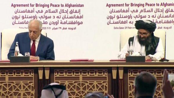 US-Taliban-peace-deal upsc essay notes mindmap
