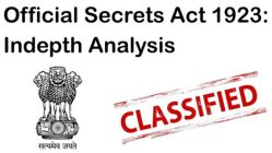 Official Secrets Act - Transparency Vs National Security