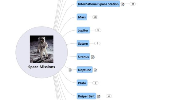 Space missions - compilations list for upsc prelims