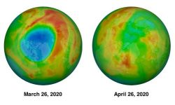 Ozone Layer Depletion - How the Large Hole in the Arctic Ozone Layer Closed