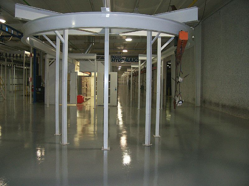 Texas Hydraulics Paint Booth Bldg. Floors II