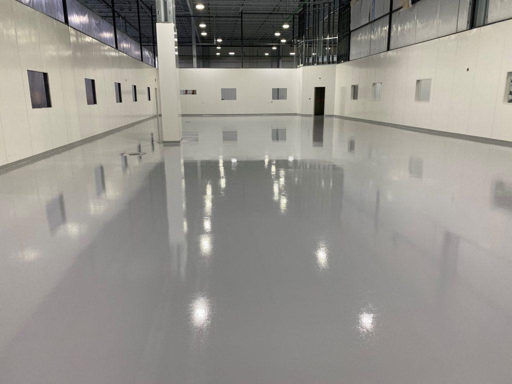 Epoxy urethane, epoxy flooring, epoxy floor coating, epoxy MorristownTN, epoxy flooring KnoxvilleTN, TeamIA, Industrial Applications Inc