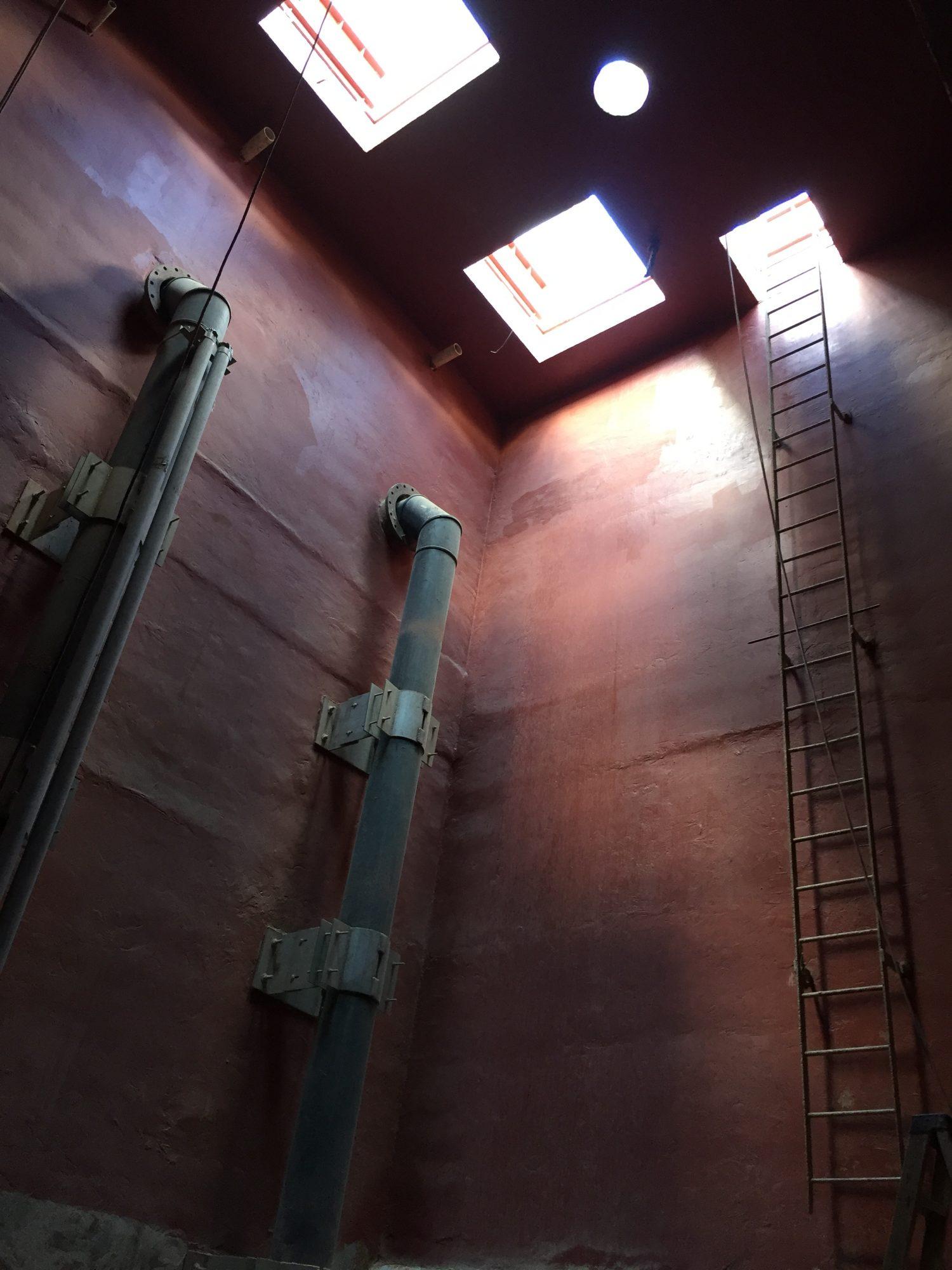 Containment coatings, epoxy floor coatings, epoxy mortar, hand trowel epoxy