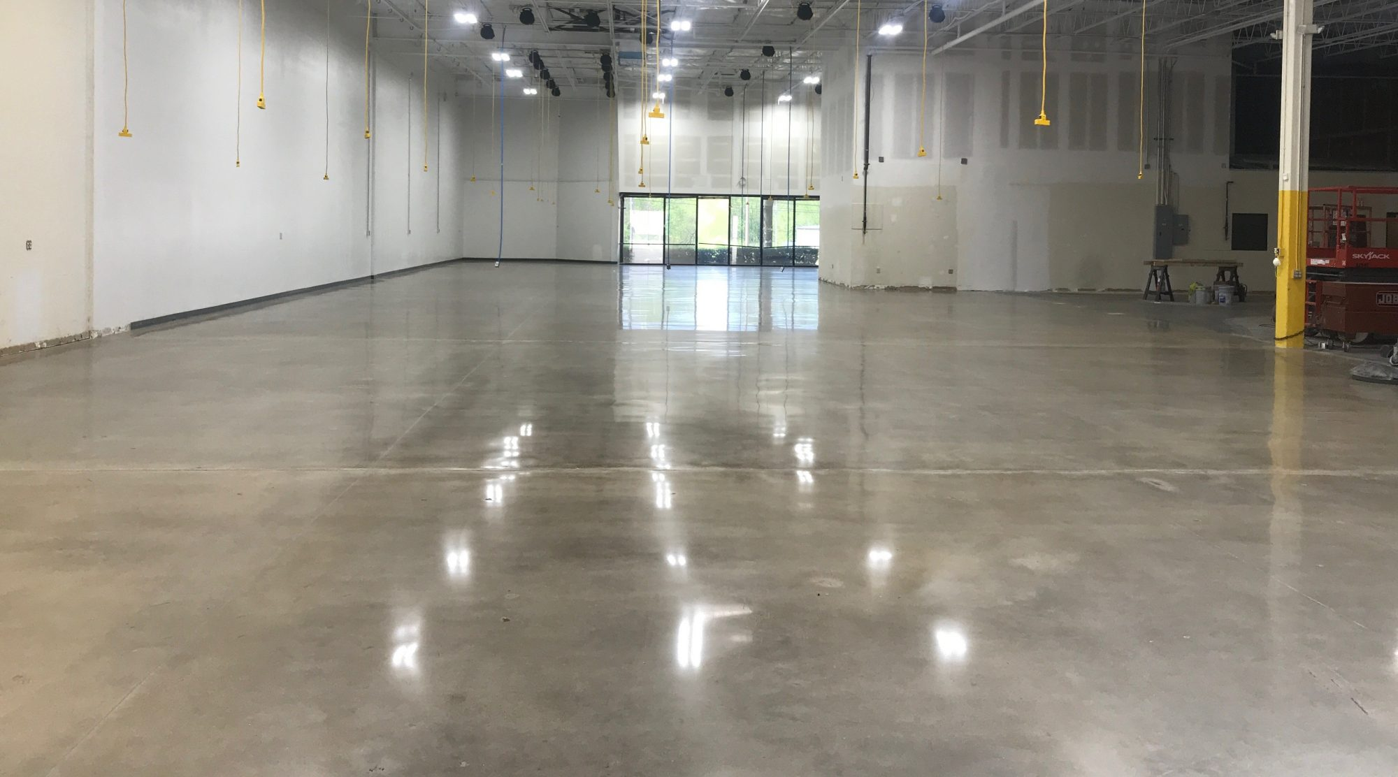 TeamIA, Industrial Applications Inc, polish concrete, concrete polishing, IA30yrs