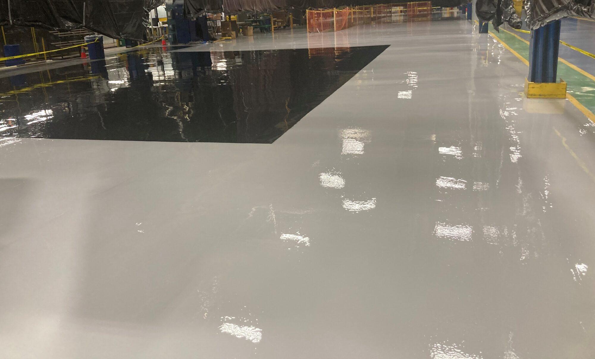 #industrialapplicationsinc #concretefloorcoatings #epoxyfloorcoating #epoxycoatings #industrialconcretefloors #epoxyfloorcoatings #TeamIA #5SMarkings #floorsafetystriping
