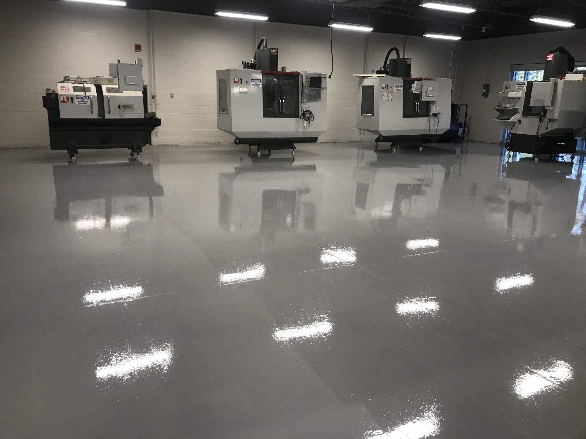 high school, middle school, epoxy floor coatings, urethane floor coatings