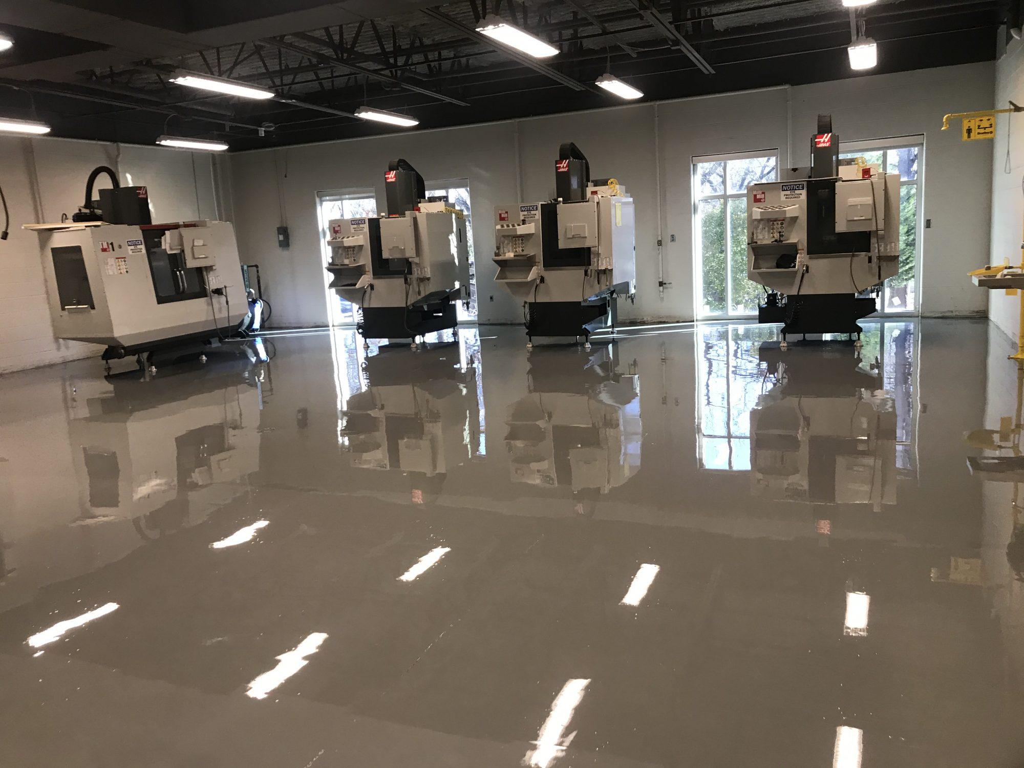high school, middle school, epoxy floor coatings, urethane floor coating