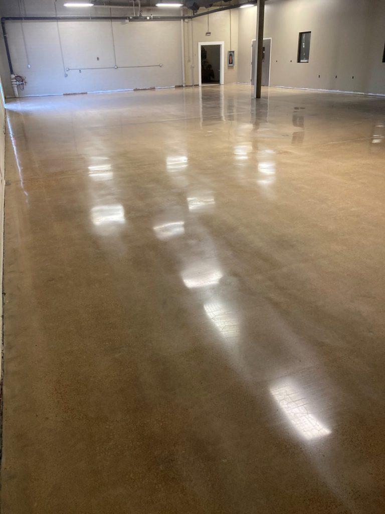 Polish concrete, polished concrete, demo concrete, coating removal, Industrial Applications, Inc., TeamIA, IA30yrs