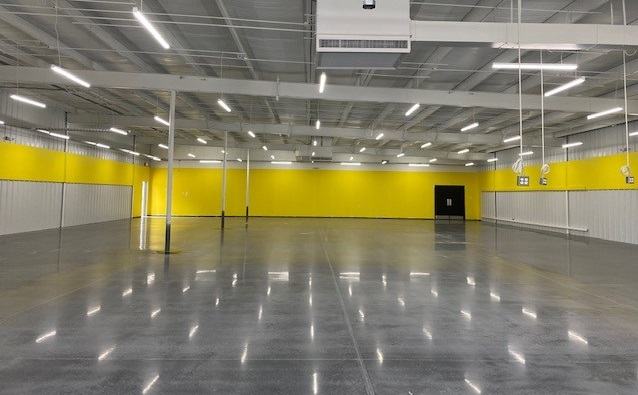 Polish concrete, polished concrete, retail concrete floor, Green flooring solution, Industrial Applications Inc., IA30yrs
