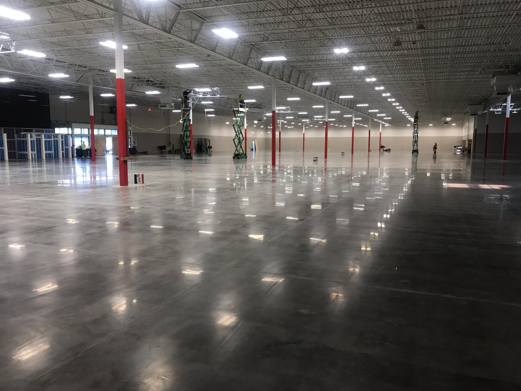 joint fill, joint repair, honor joints, polished concrete, densify concrete