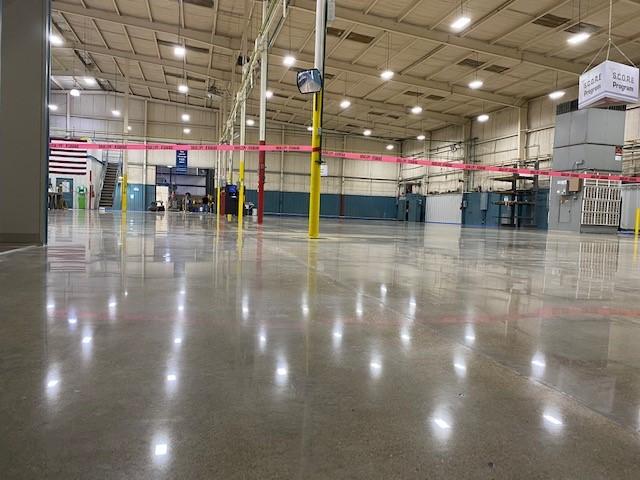 Polish concrete, joint rebuild, Industrial Applications Inc, industrial concrete polishing,  TeamIA,  IA30yrs,  polished concrete, surface preparation