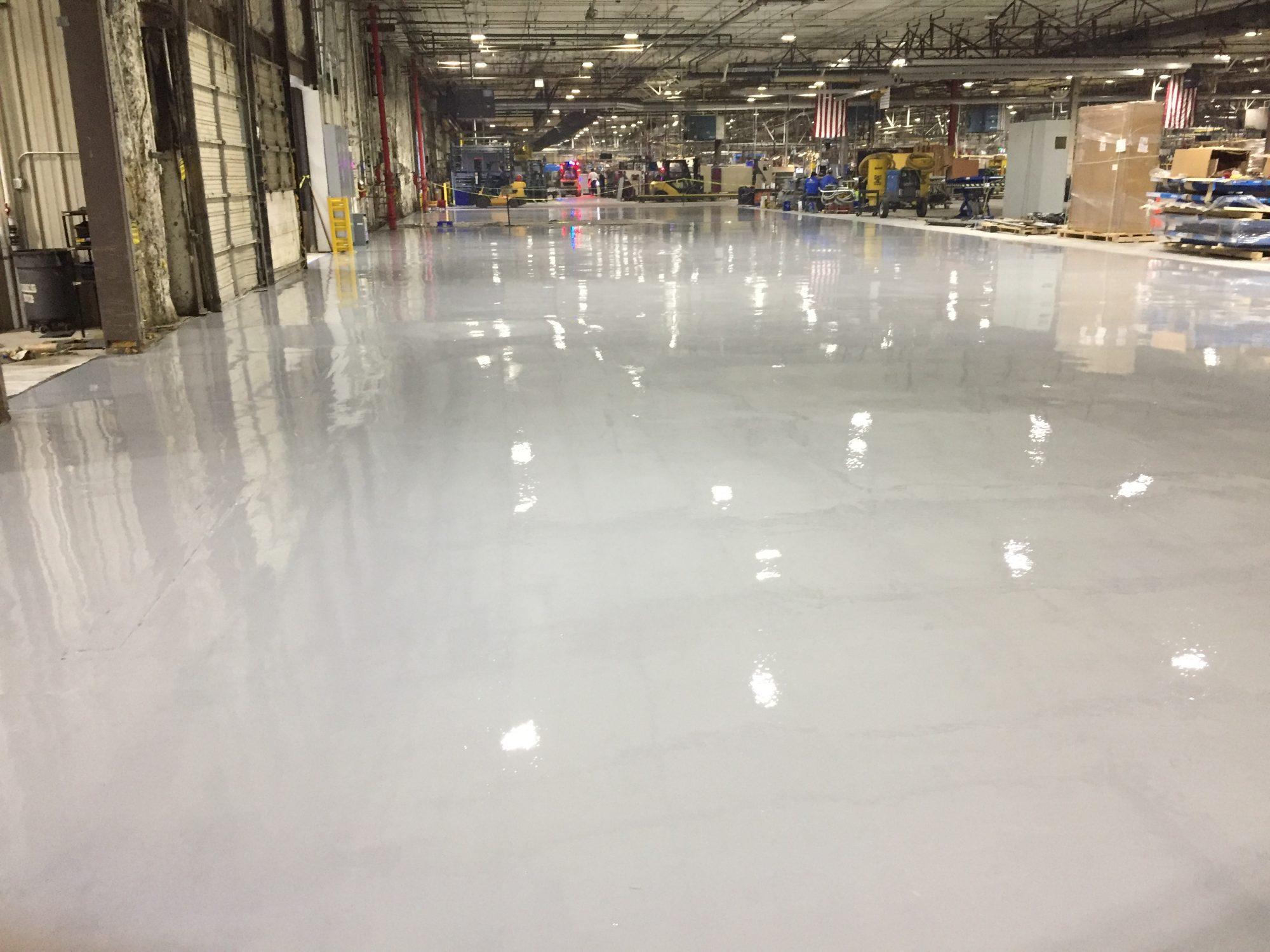 epoxy floor coatings, thin mil coatings, industrial Floor Coatings