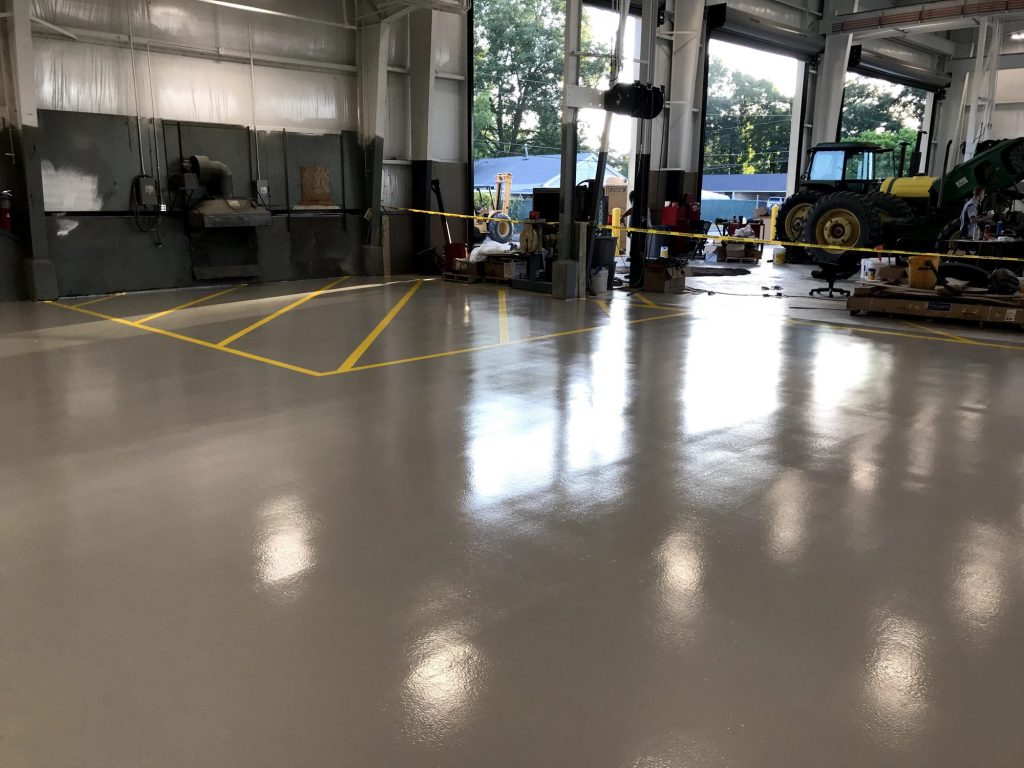 5S striping, safety striping, line striping, manufacturing facility