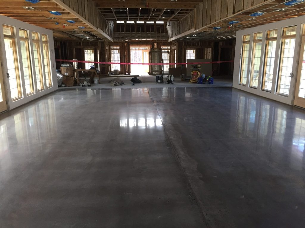polished concrete, assisted living facility, health care floor coatings
