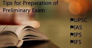 Tips for Preparation of Preliminary Exam
