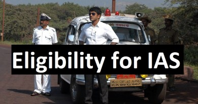 Eligibility for IAS Officer