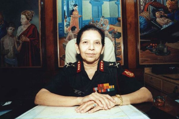 First Woman Lt. General of Indian Army and Vice admiral of Indian Navy - Mrs. Punita Arora