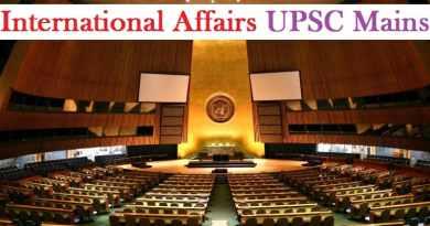 International Affairs UPSC Mains GS 2 Preparation