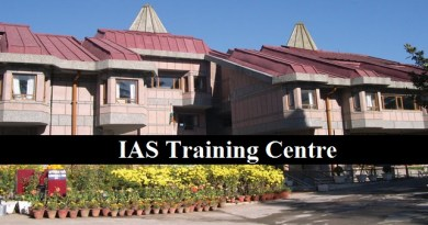 IAS Training : Lal Bahadur Shastri National Academy of Administration