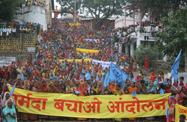 Short Note on Narmada Bachao Andolan in India NBA on