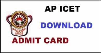 AP ICET Hall Ticket Download
