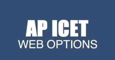 AP ICET Web Options