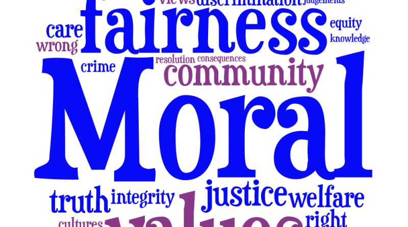 Essay moral values