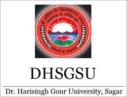 DHSGSU Dr. Harisingh Gour University Time Table