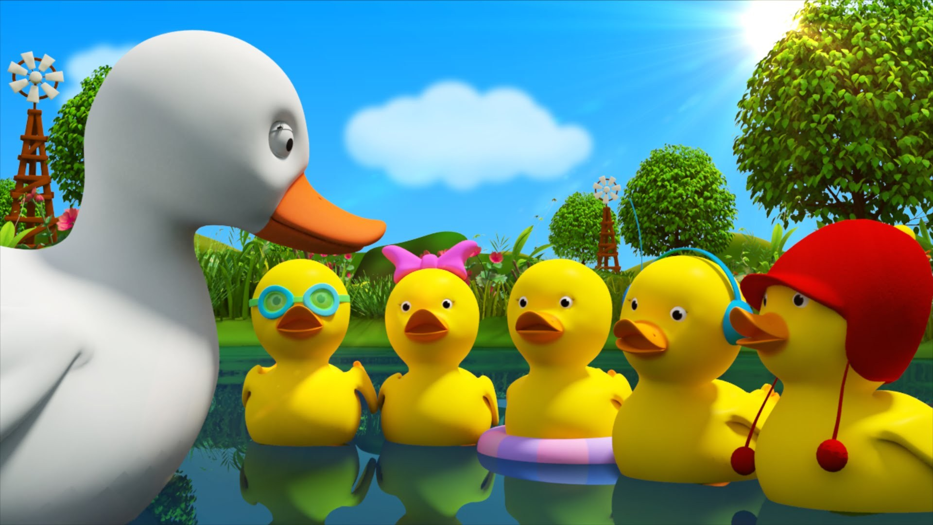 Beautiful Rhymes On Duck For Kids Amp Children In Simple English