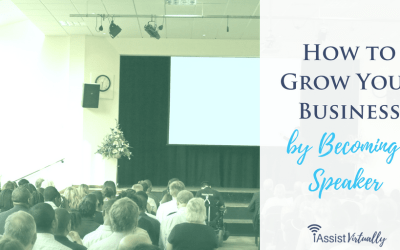 How to Grow Your Business by Becoming a Speaker