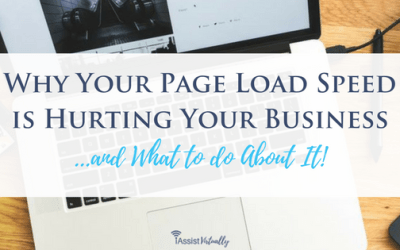 Why Your Page Load Speed is Hurting Your Business and What to do About It!