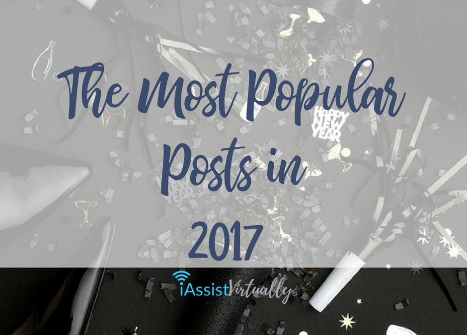The Most Popular Posts in 2017