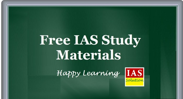Ias Study Materials And Notes As Pdf For Free Ias Solution
