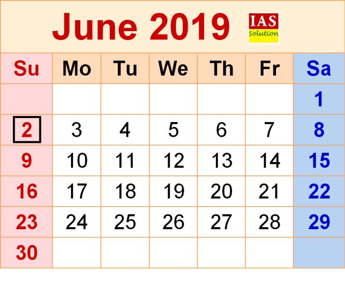 upsc prelims 2019 exam date