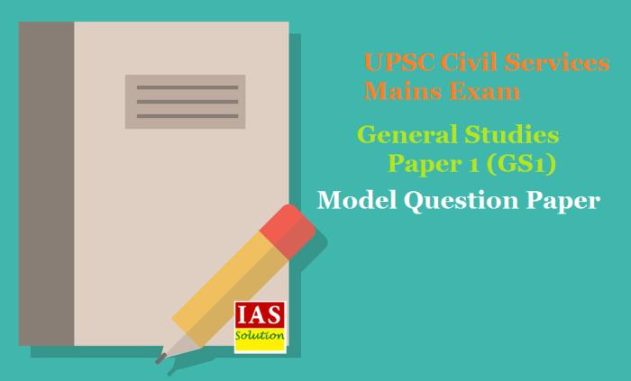 General Studies Paper 2 Model Question Paper (GS2)
