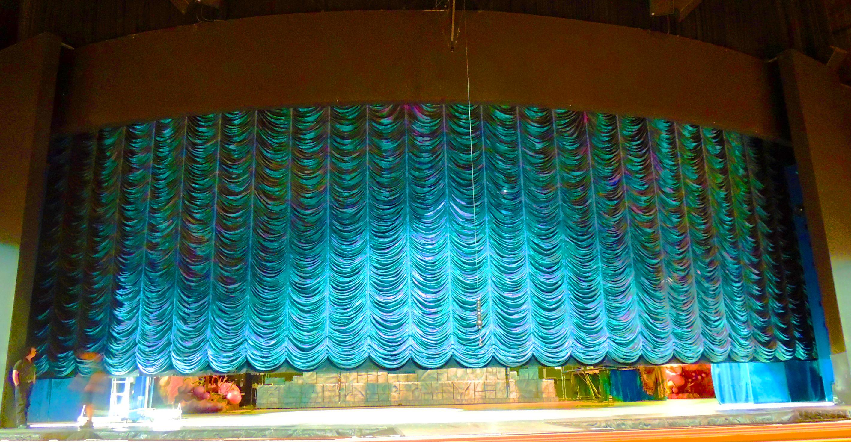 Austrian Amp Brail Curtains Ia Stage