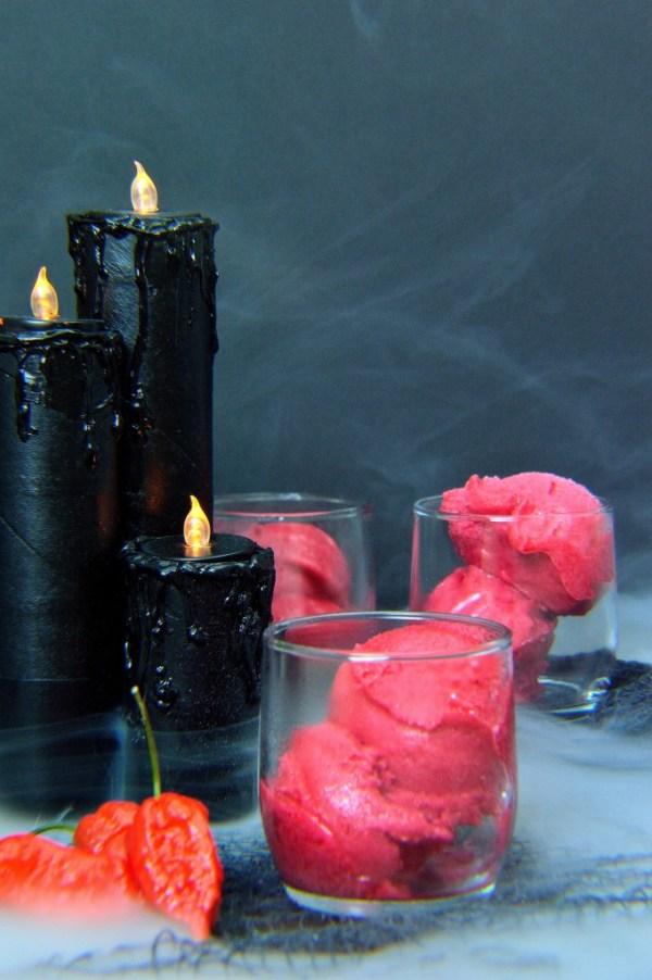 ghost pepper raspberry sorbet 12