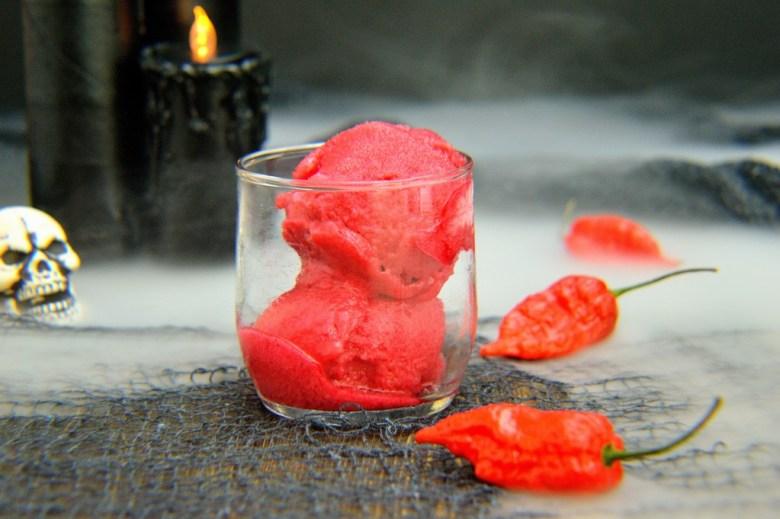 ghost pepper raspberry sorbet 16