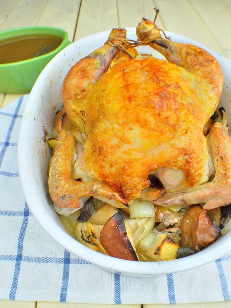 cider roasted chicken 8