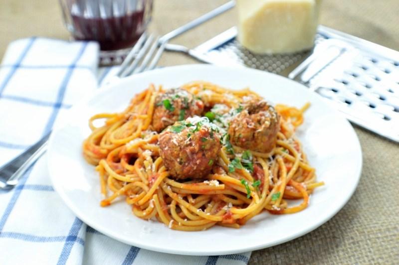 spaghetti meatballs 6B