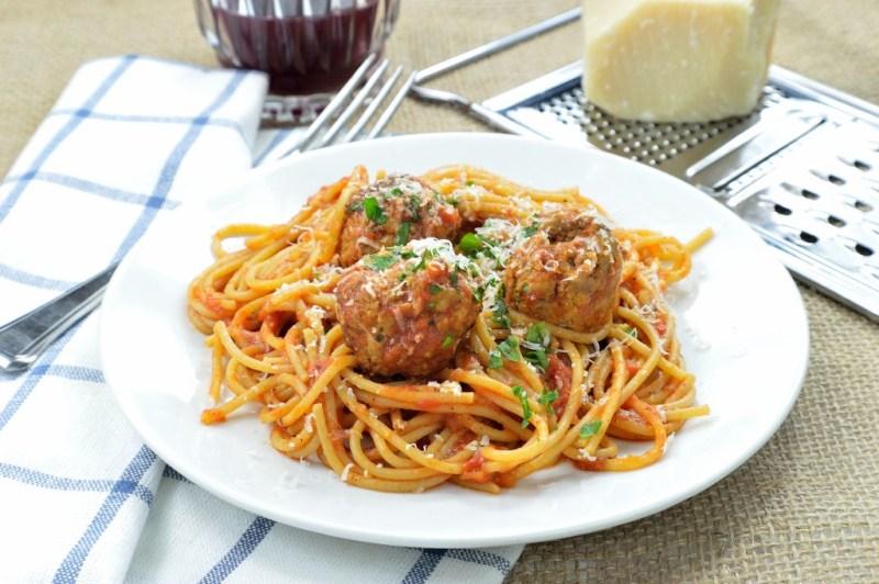 spaghetti meatballs 9