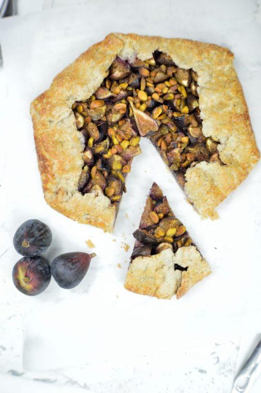 fig pistachio galette 5a
