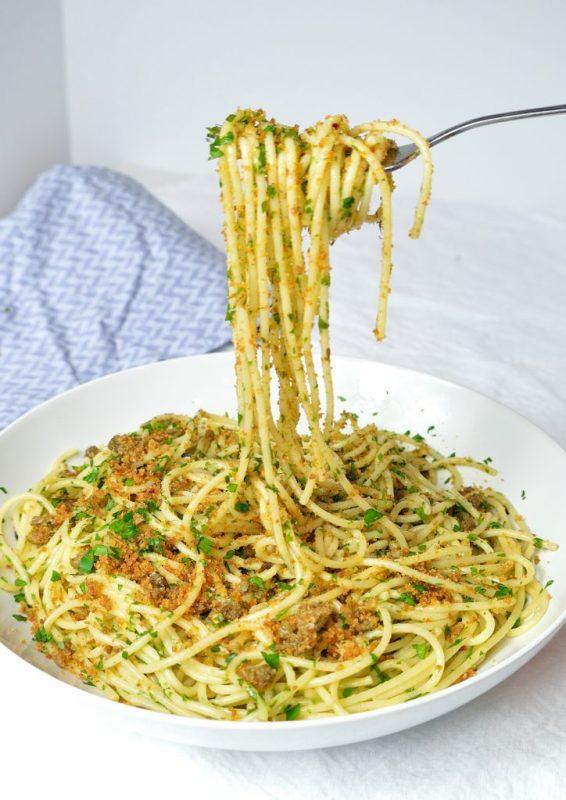 frazzle caper breadcrumb pasta 4