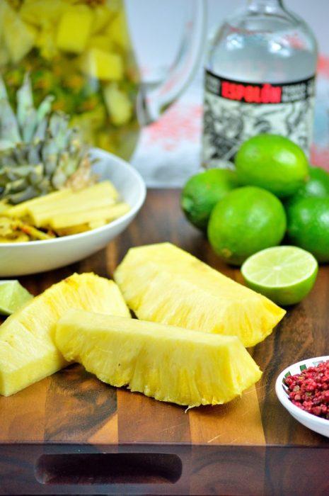 pineapple pink peppercorn margarita 2