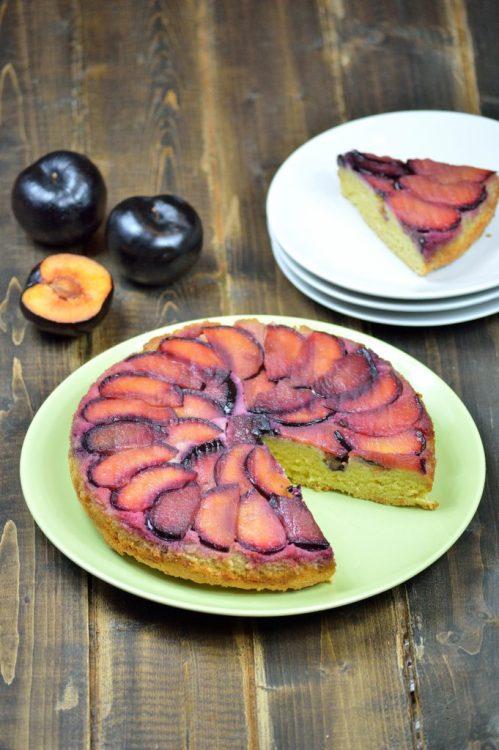 plum olive oil cake 6
