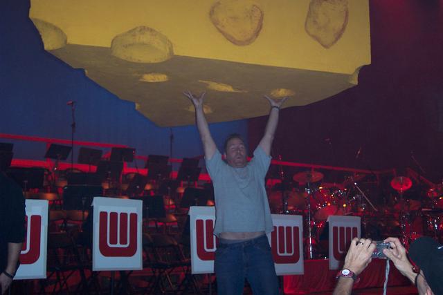 UW Band Show 2008 Mark Bitney