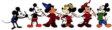 Evolució del ratón Mickey