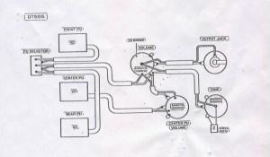 Ibanez Collectors World: DT555 toggle  knob configuration
