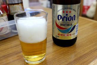沖縄といえばオリオンビールも欠かせません。